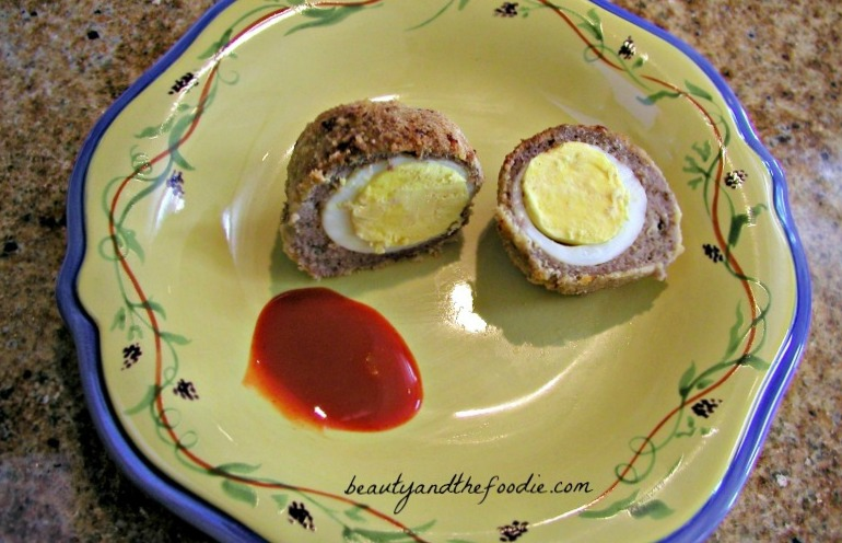 Gluten Free low Carb Scotch Eggs