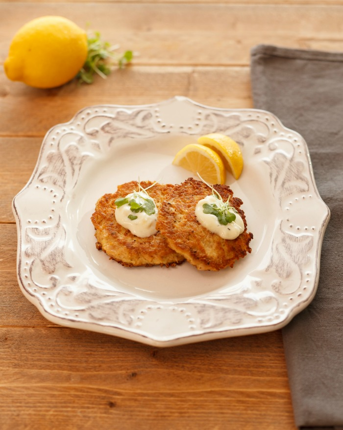 Fantasy Fish Cakes- Low carb, gluten free tuna cakes