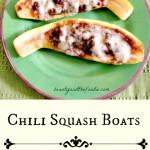 Chili Squash Boats