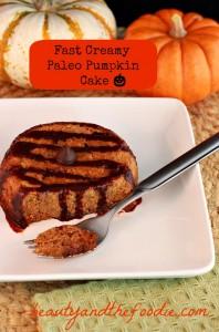 pumpkin cake paleo