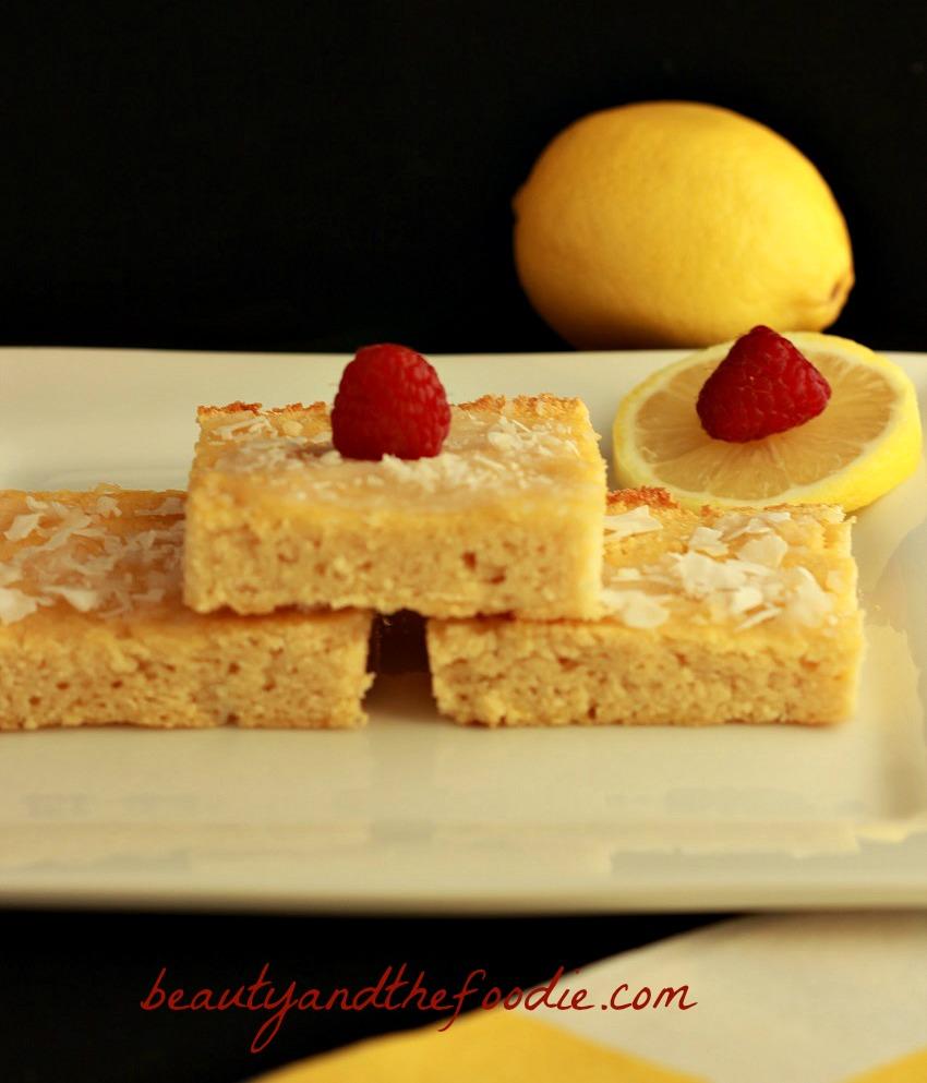 coconut lemon muffin bars photo 25