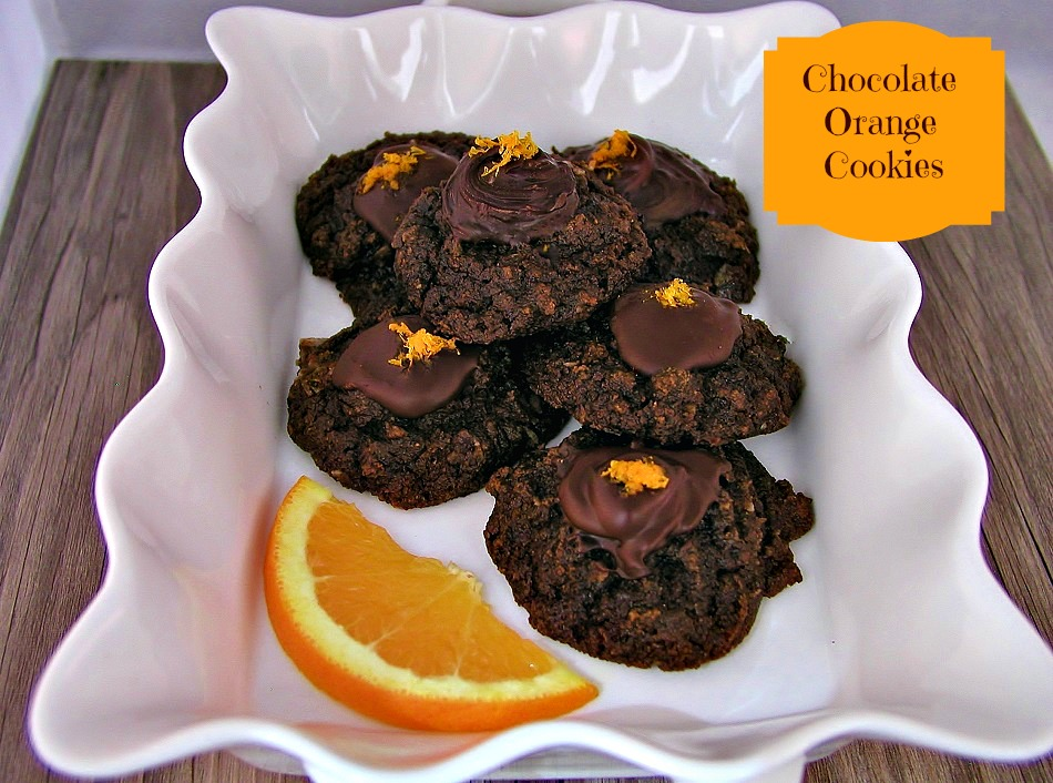 Chocolate Orange Paleo Cookies