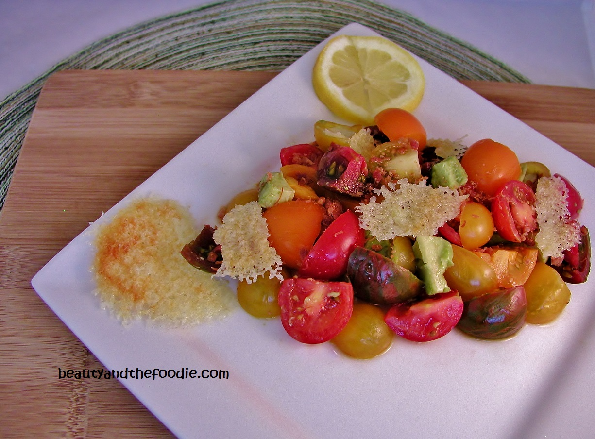 Baby Heirloom Tomato Salad