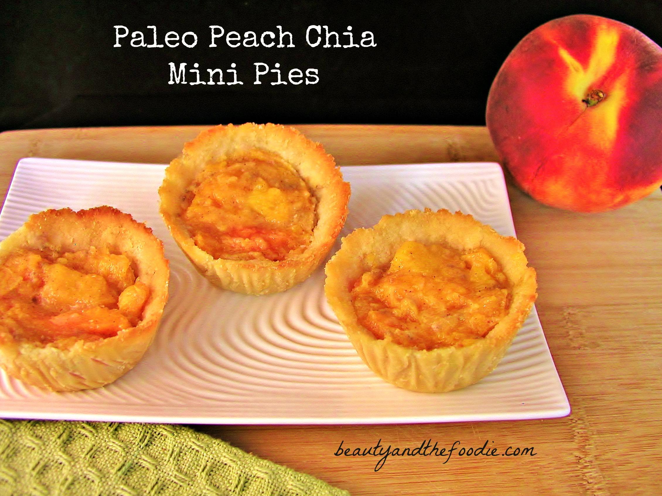 Paleo Peach Mini Pies