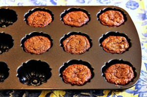 Grain Free Chocolate Angel Food Mini Cakes photo from oven