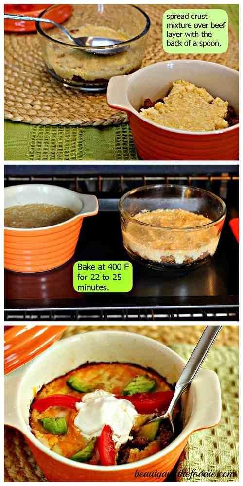 Grain free nacho pot pie /