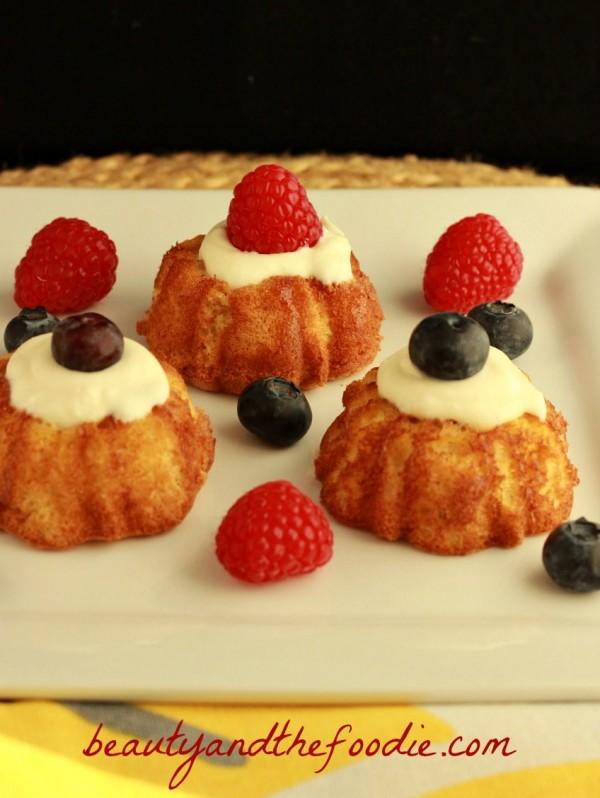 French Vanilla Angel Food Cake, grain free