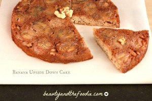 Paleo Banana Upside Down Cake photo  003 c
