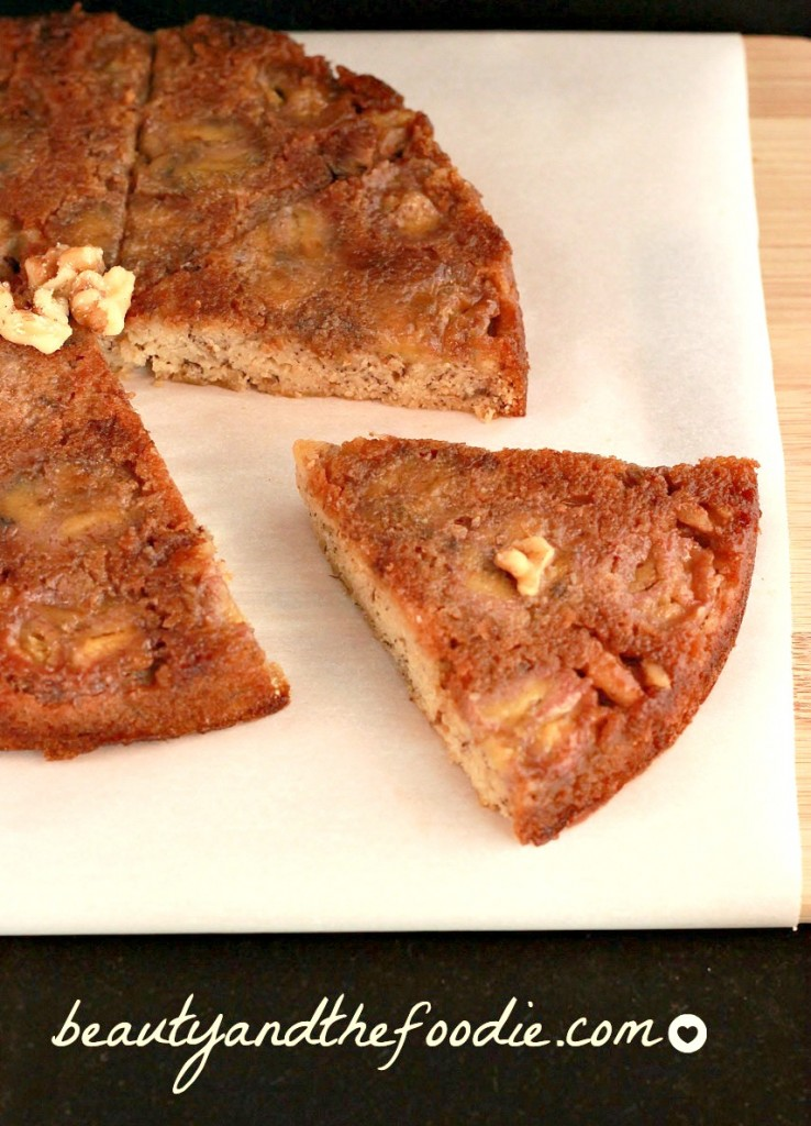 Paleo Banana Upside Down Cake photo 150 b
