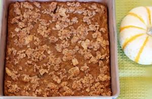 Paleo Pumpkin Pie Crumble Bars 093