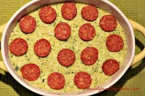 Primal Pizza Pie Layer Casserole layer 3