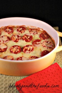 Primal Pizza Pie Layer Casserole photo 1