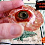 Pizza Eyeball Snacks/ beautyandthefoodie.com