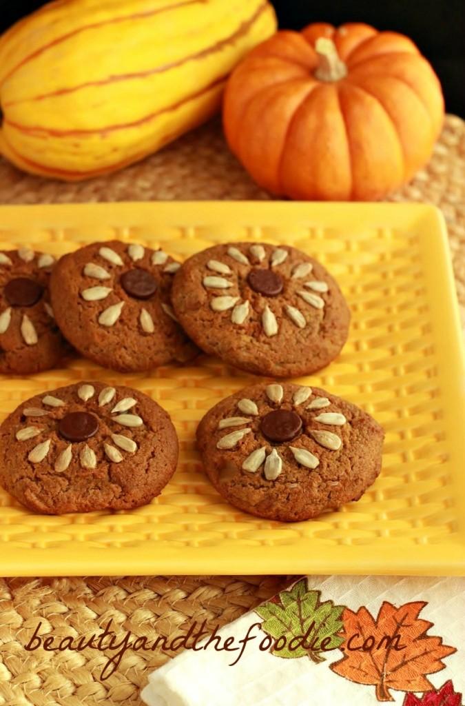 sunflower butter cookies paleo