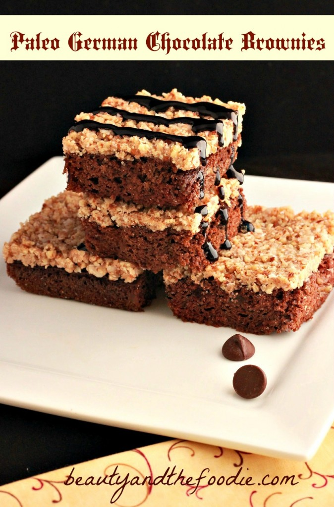 German Chocolate Brownie Bars photo 5 fb