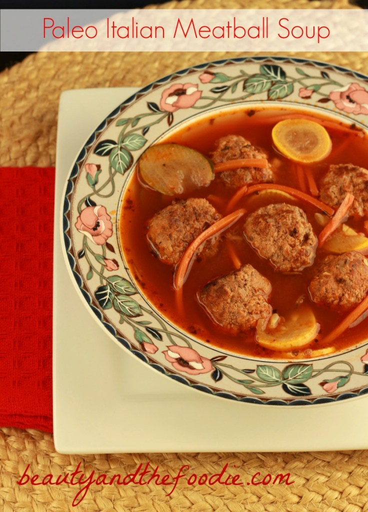 Italian Meatball Soup photo 025 c