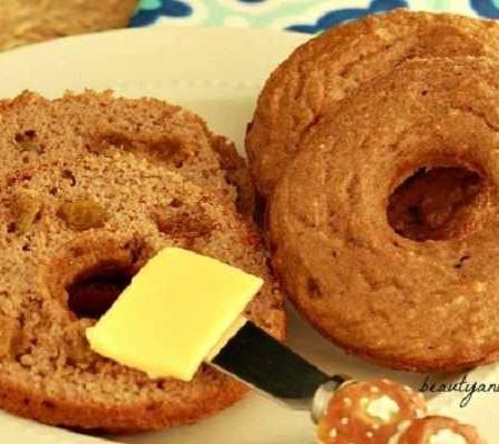 Paleo Cinnamon Raisin Bagels