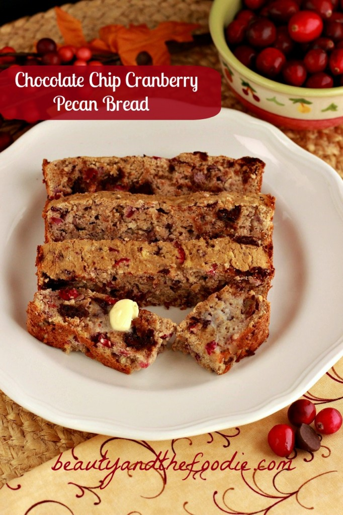 chocolate chip cranberry pecan bread photo 27