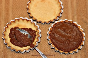 chocolate pumpkin gingerbread tarts photo 056 a