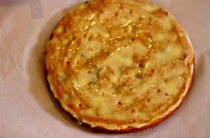 Paleo Lemon Blueberry Poke Cake / beautyandthefodie.com