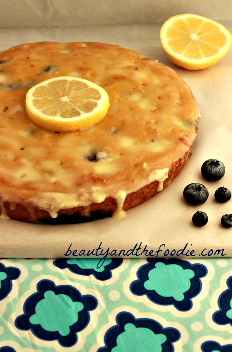 Lemon Poke Cake Low Carb