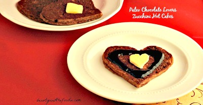 Paleo Chocolate Lovers Zucchini Hot Cakes