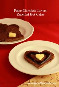 Paleo Chocolate Lovers Zucchini Hotcakes / beautyandthefoodie.com