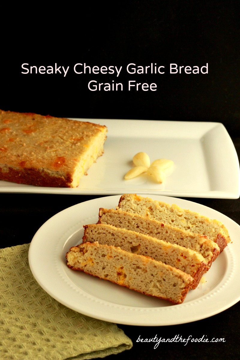 Sneaky Cheesy Garlic Bread, grain free