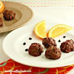 Chocolate Orange Truffle Bites - Low Carb and Paleo.