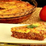Easy Paleo Hamburger Pie, Crust Free and Low Carb
