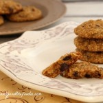 Paleo Chocolate Chip Coconut Cashew Cookies , grain free and low carb version / beautyandthefoodie.com