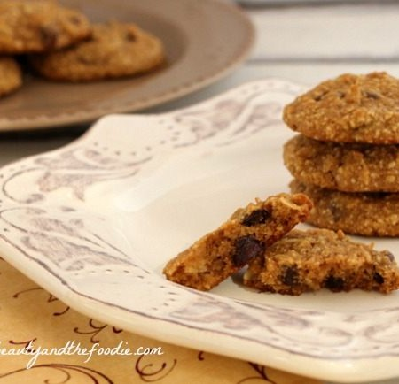 Paleo Chocolate Chip Coconut Cashew Cookies