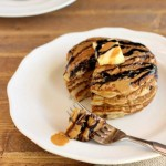 Choco Nutty Tiger Pancakes, paleo and low carb. beautyandthefoodie.com