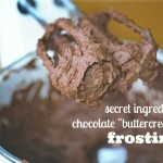 allergy friendly chocolate frosting