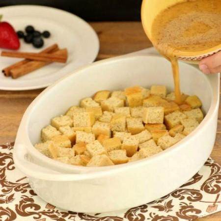 Vanilla Cinnamon French Toast Casserole