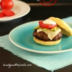 Taco Burgers on Paleo Burger Buns. Low carb Taco seasoned burgers with chipotle mayonnaise on burger buns