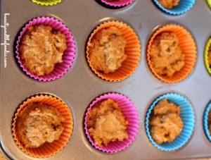 Sour Cream Pumpkin Butter Muffins, Grain free and low carb