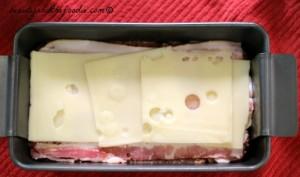 Bacon Mushroom Stuffed Turkey Meatloaf step 3