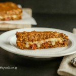 Bacon Mushroom Stuffed Turkey Meatloaf, grain free, low carb and paleo #lowcarbmeatloaf #paleomeatloaf
