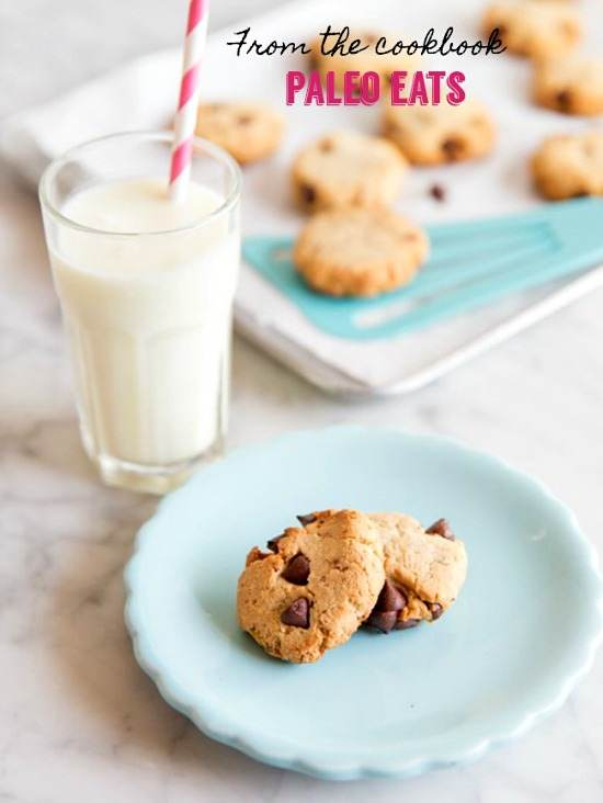 paleo chocolate chip cookie recipe and book giveaway #paleoeats #paleochocolatechipcookie