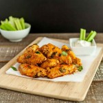Saucy Baked Buffalo Chicken Wings, low carb, grain free, paleo