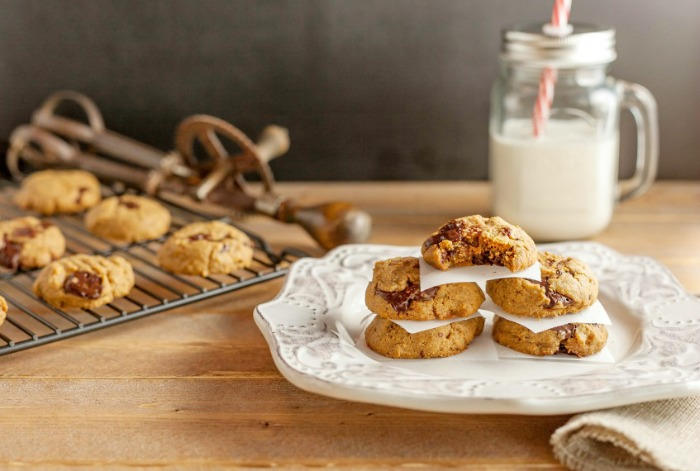 Chocolate Chunk Nut Butter Cookies - Paleo and low carb.
