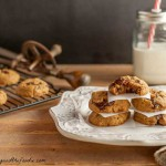 Easy Chocolate Chunk Nut Butter Cookies grain free paleo and low carb