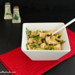 Asian Chicken Zoodle Salad, grain free, paleo and low carb.