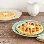 Low Carb Buttermilk Waffles, grain free, low carb and paleo