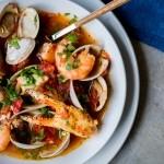 Seafood Cioppinio, Domestic Man