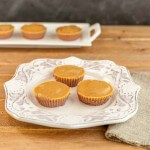 Chocolate Peanut Butter Mini Cheesecakes, grain free, low carb, easy no bake cheesecakes