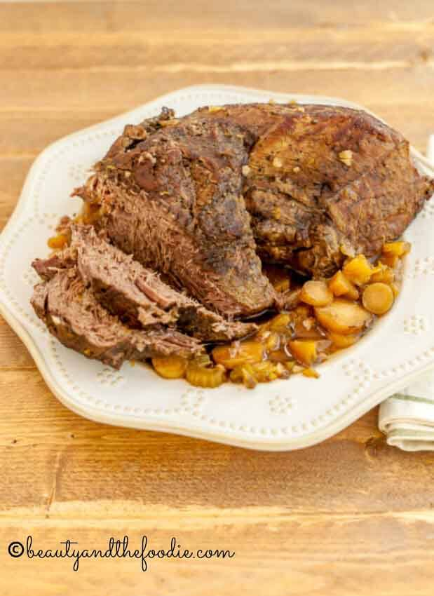 Slow Cooker Coffee Roasted Beef Beauty And The Foodie