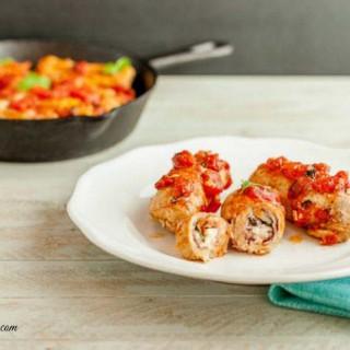 Italian Pork Rollatini Low Carb