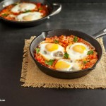 Low Carb Italian Eggs in Purgatory- grain free, paleo and low carb